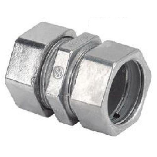 "EMT Compression Couplings - 1/2"" - 3/Pk"