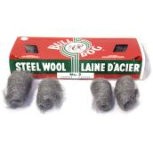 Pack of 16 Steel Wool Pads - Coarse - # 2