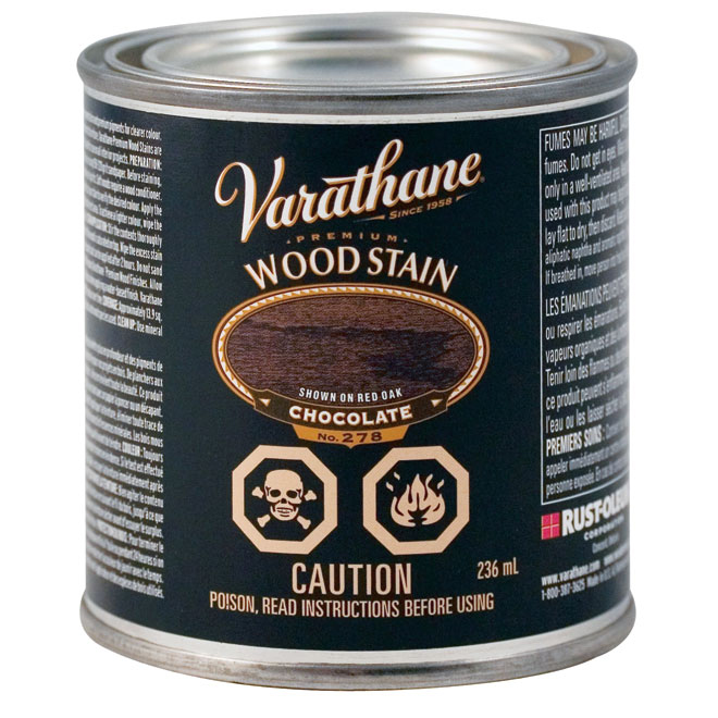 Premium Wood Stain - Semi-Gloss - Chocolate