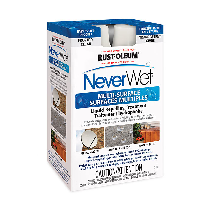 Traitement hydrophobe «NeverWet»