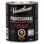 946 mL Oil Base Wood Trim Varnish Flat Finish
