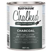 Chalked Ultra-Matte Paint - Charcoal