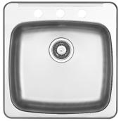 Single Sink - Stainless Steel - Top Mount - 21