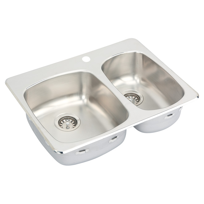 Stainless Steel Sink - 1 1/2  - Top Mount - 28""