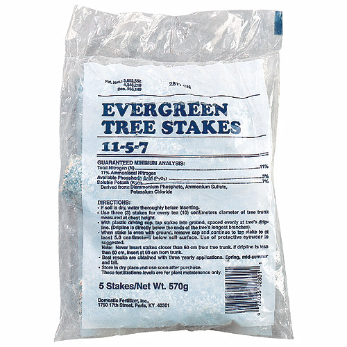 Fertilizer - Evergreen Fertilizer 11-5-7