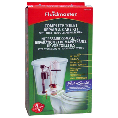 Complete Toilet Repair And Care Kit