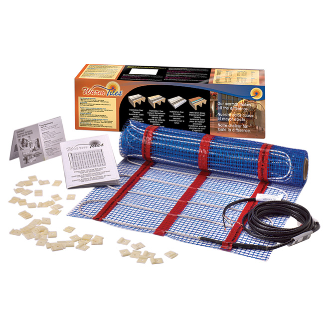 "Warm Tiles(R) Floor Warming Mat Kit - 20"" x 6.67'"