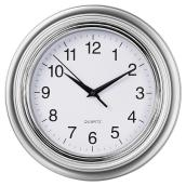 Wall Clock - Aster - Silver - 10