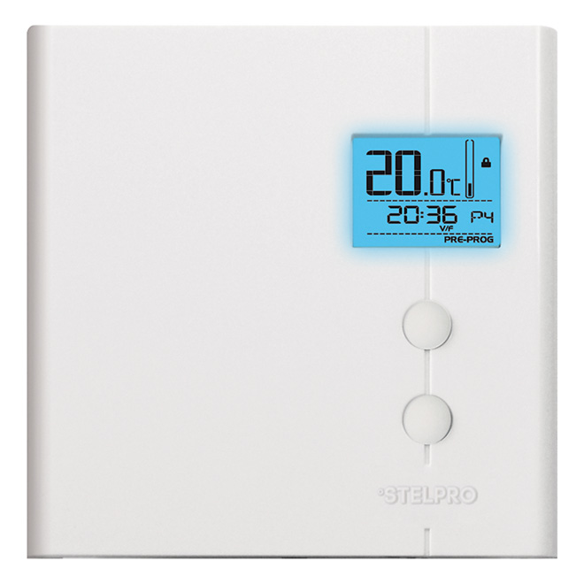 "Thermostat - ""Smart"" Non-Programmable Electronic Thermostat"
