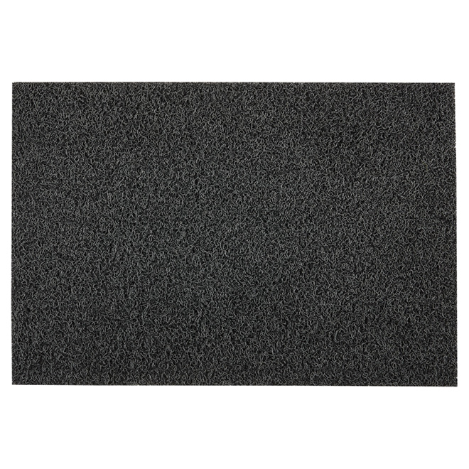 PVC Door Mat, Grey