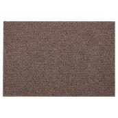 PVC Door Mat - Brown
