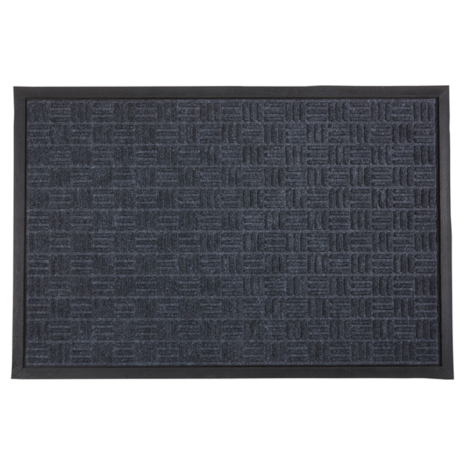 Outdoor Mat with Natural Rubber - Dark Grey