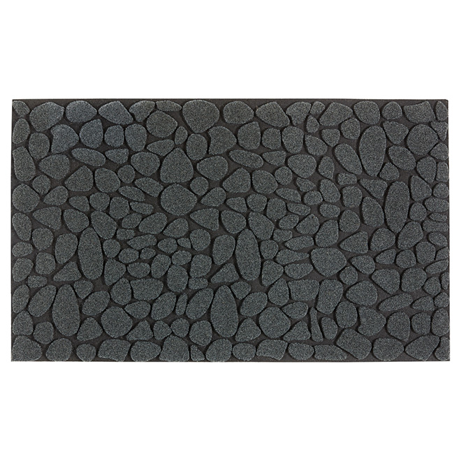 Outdoor Recycled Rubber Mat - Dark Grey