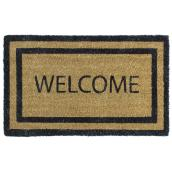 Carpette coco «Welcome»