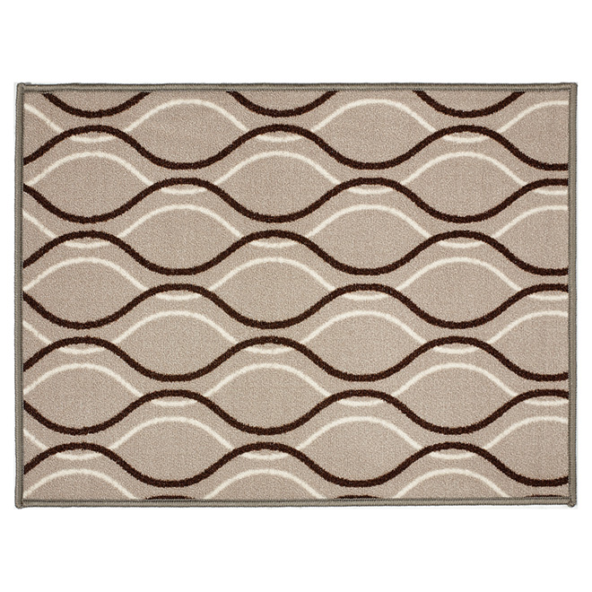 Decorative Nylon Carpet - Beige