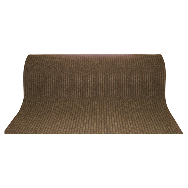 "Utility Carpet Runner - ""Siamese"" - 48"" x 82' - Brown"