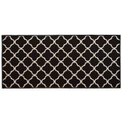 Decorative Mat - Black - 26'' x 59''