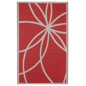 Exterior Rug - Reversible - Dune - 5' x 8' - Red