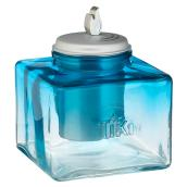 Ombre Ice Table Torch - Glass - Blue