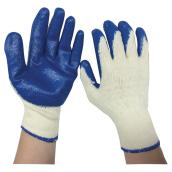 Men's Latex-Coated Working Gloves - XL - 6 Pairs