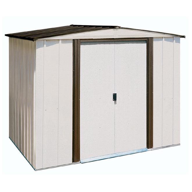remise de jardin 8 39 x 6 39 rona. Black Bedroom Furniture Sets. Home Design Ideas