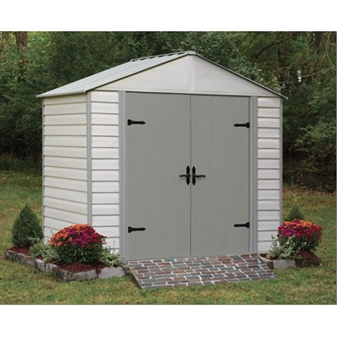 garden shed 8 x 5 vinylsteel - Garden Sheds 8 X 5