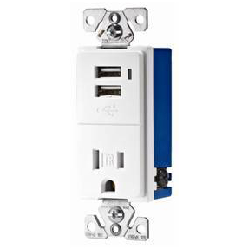 Decorative Duplex receptacle