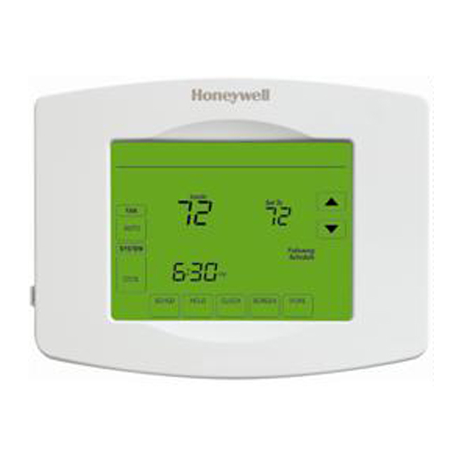 Wi-Fi Programmable Touchscreen Thermostat - White