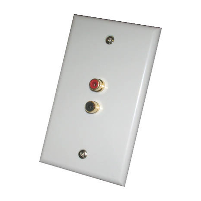 WALL PLATE RCA