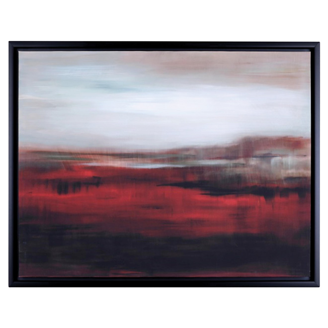Canvas with Frame - Abstract Landscape