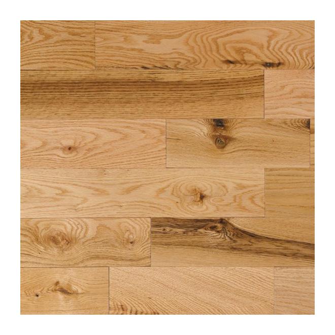 Plancher de bois franc en ch ne naturel rona for Couvre plancher exterieur