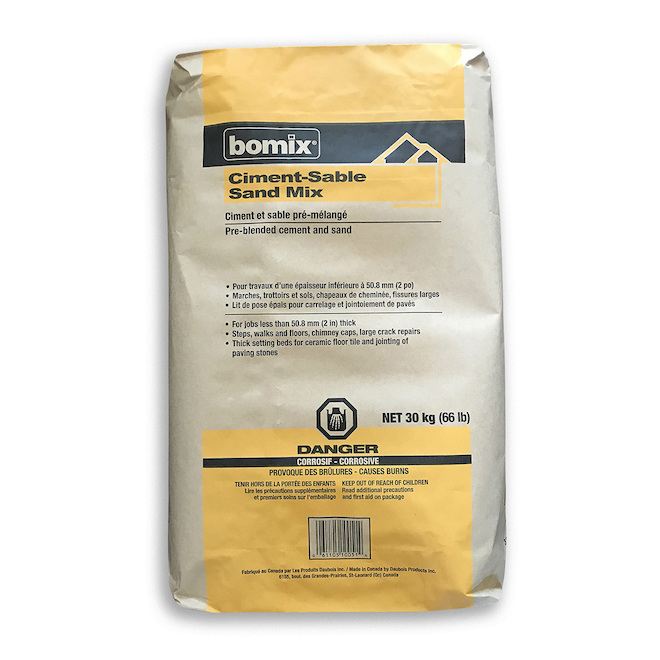 Portland Cement and Sand Mix - 30 kg