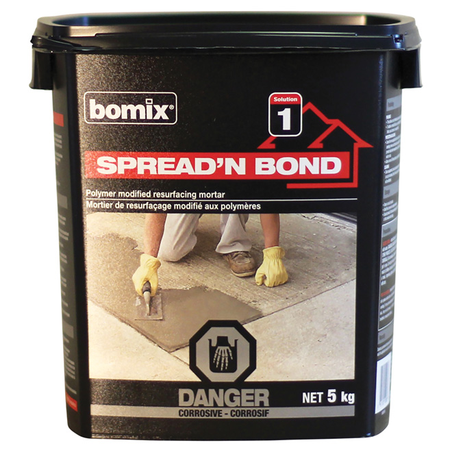 """Spread'N'Bond"" Resurfacing cement"