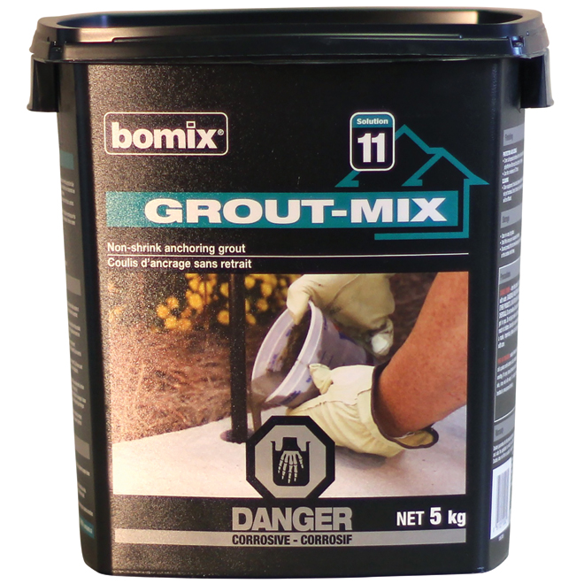 Anchoring grout
