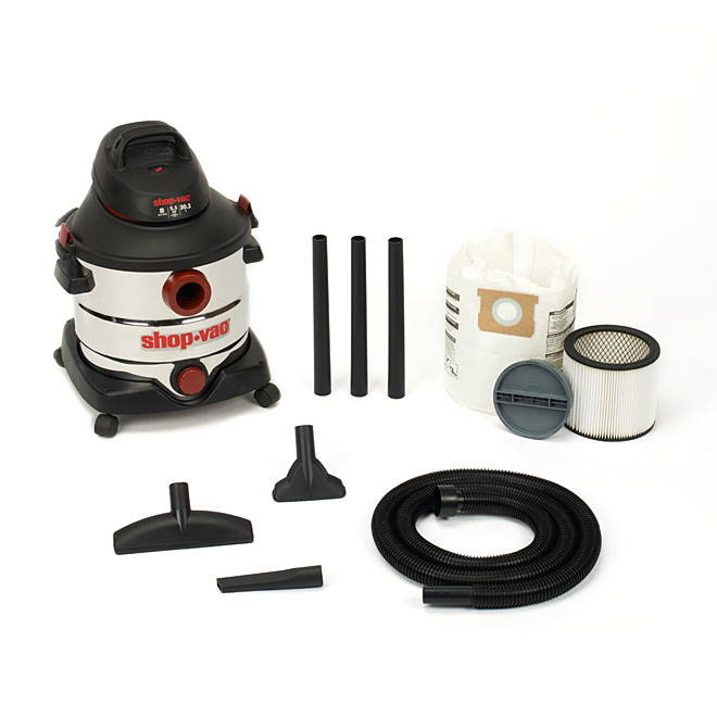 8-Gal Wet and Dry Vacuum