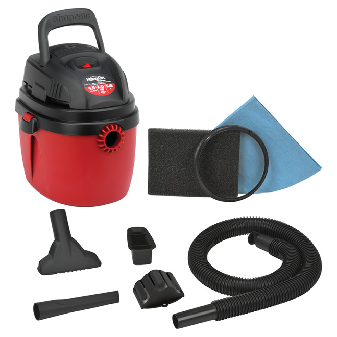 "Portable ""wet and dry"" vacuum"