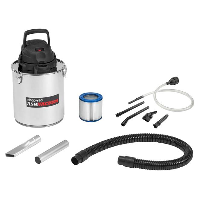 aspirateur pour cendre de foyer acier inoxydable 5 gallons rona. Black Bedroom Furniture Sets. Home Design Ideas