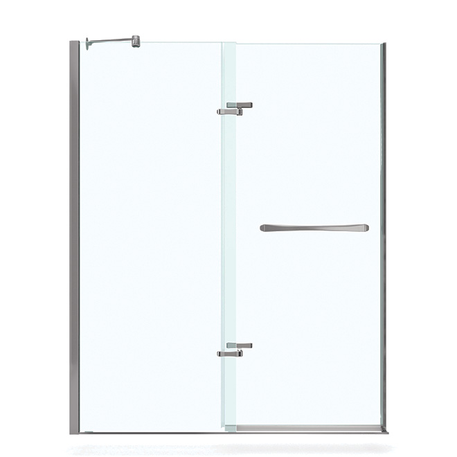 Quot Reveal Quot Pivot Shower Door Rona