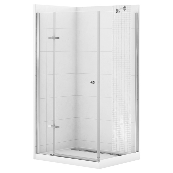 One Piece Corner Shower.Choosing Between Modular Showers One Piece Showers And