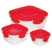 Set of 3 Salad Containers- Polypropylene