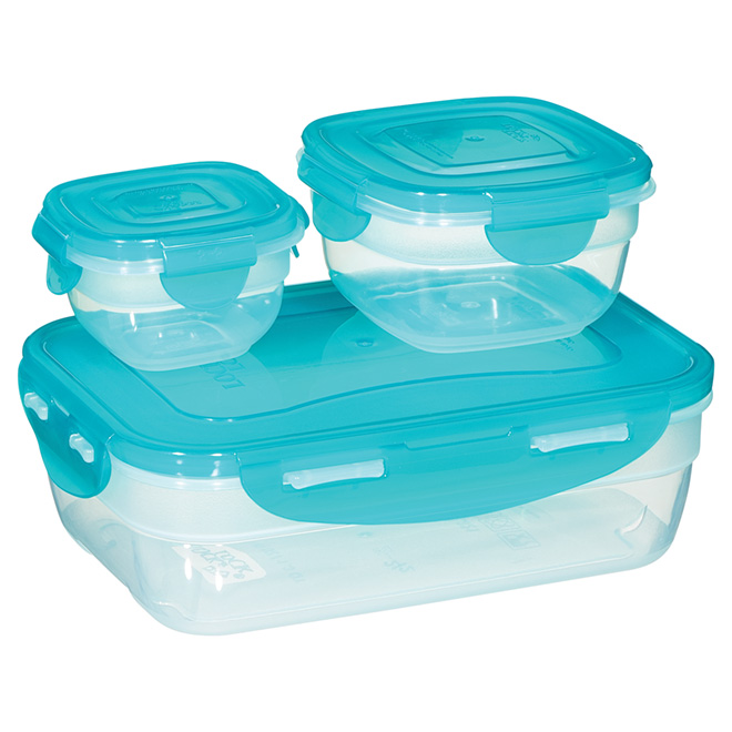 Set of 3  Sandwich Containers - Polypropylene