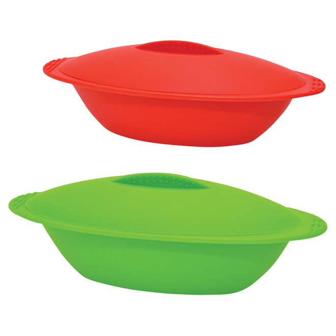 Oval Silicone Steamer - 32.5 oz - Assorted Colors
