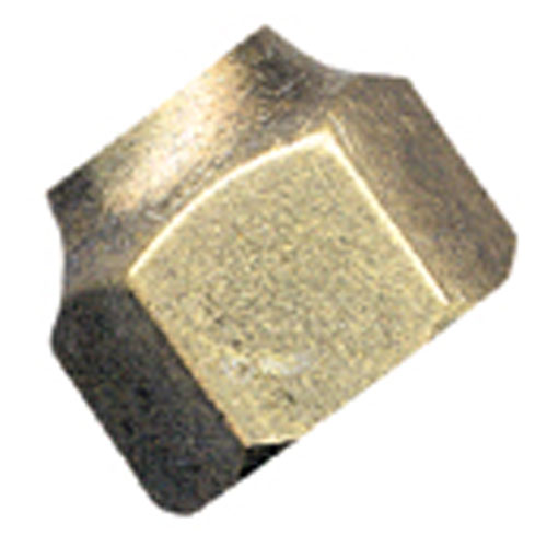Short Forged Flare Nut - Brass - 45° - 3/8""