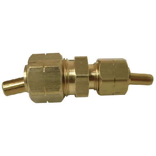 "Union - Brass - 3/8"" x 1/4"" - Tube x Tube"