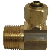 Elbow - Brass - 90° - 3/8