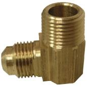 Flare Elbow - Brass - 45° - 3/8