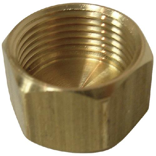 Compression cap brass quot rona
