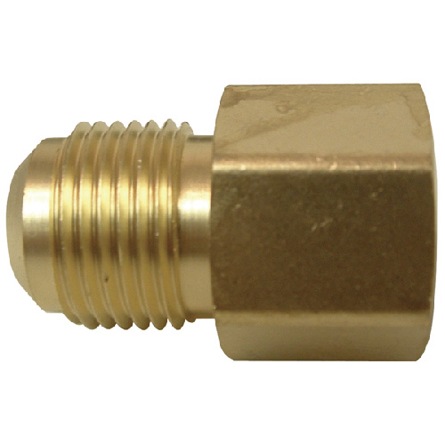"Flare Coupling - Brass - 1/2"" x 1/2"" - Flare x FIP"