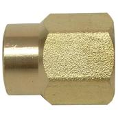 Reducer Coupling - Brass - 1/4