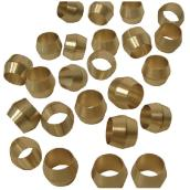 Compression Sleeves - Brass - 3/8